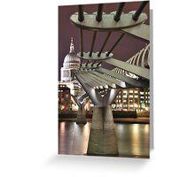 Inspiring Bridge Greeting Card