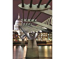Inspiring Bridge Photographic Print