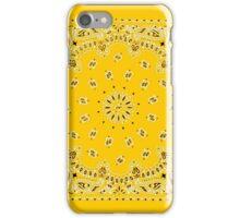 Yellow Hanky,Handkerchief iPhone Case/Skin