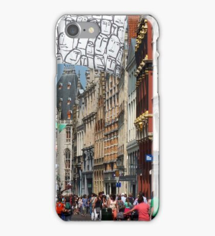 crowded iPhone Case/Skin
