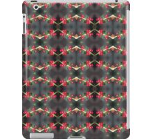 holly berry macro pattern iPad Case/Skin