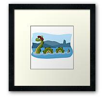 Nessie! Framed Print