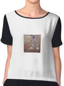 Blame it on The Brain by 'Donna Williams' Chiffon Top