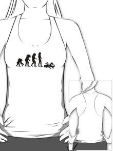 Evolution of the Essex Girl T-Shirt