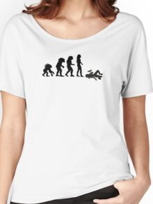 Evolution of the Essex Girl Women's Relaxed Fit T-Shirt