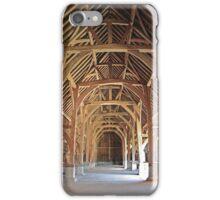 Harmondsworth Barn iPhone Case/Skin