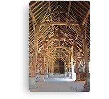 Harmondsworth Barn Canvas Print