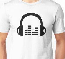 Headphones equalizer Unisex T-Shirt