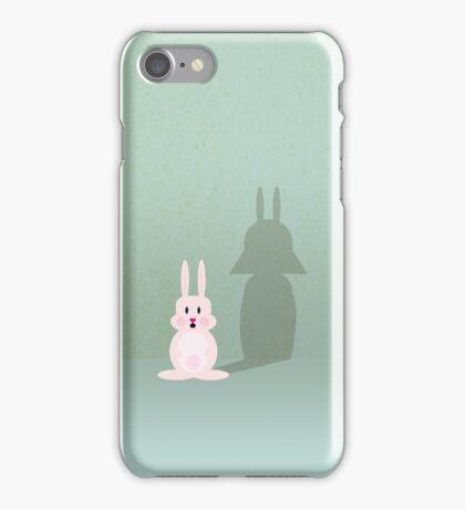 Bunny of the Dark Side VRS2 iPhone Case/Skin