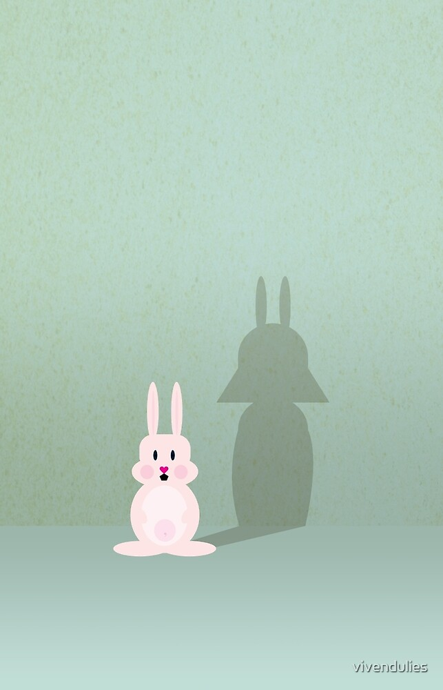 Bunny of the Dark Side VRS2 by vivendulies