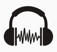 Headphones Frequency DJ by Designzz
