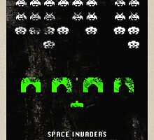 Space Invaders by Vladimir Gatara