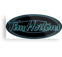 Tim Horton's New Logo Metal Print