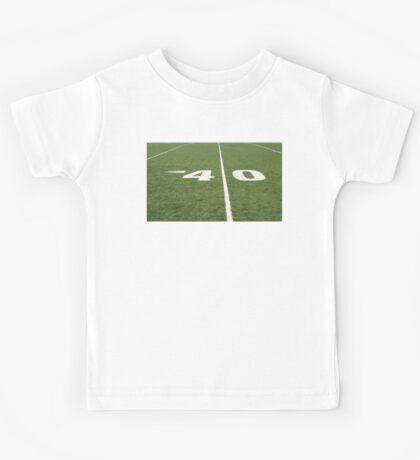 Football Field Forty Kids Tee