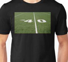 Football Field Forty Unisex T-Shirt