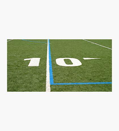 Football Field Ten Photographic Print