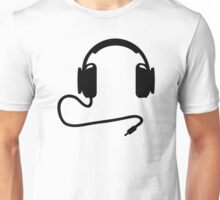 Headphones cable Unisex T-Shirt