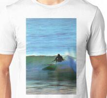 Topanga Beach Surfer Unisex T-Shirt