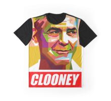 George Clooney Graphic T-Shirt