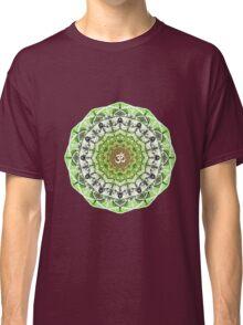 GREEN OM MANDALA Classic T-Shirt