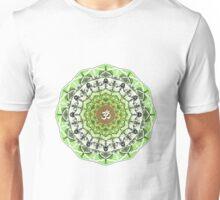 GREEN OM MANDALA Unisex T-Shirt