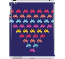 Space Invaders. Illustration of space aliens iPad Case/Skin