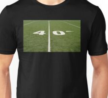 Football Field Forty Unisex T-Shirt