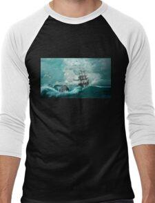 The Pirate Ship Tragedy Men's Baseball ¾ T-Shirt