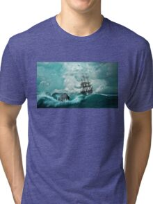 The Pirate Ship Tragedy Tri-blend T-Shirt