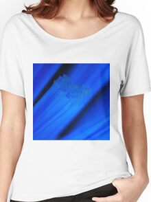 Electric Blue Bristles Women's Relaxed Fit T-Shirt