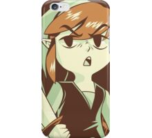 """""""I'm NOT Your Princess"""" - Toon Link - Wind Waker  iPhone Case/Skin"""