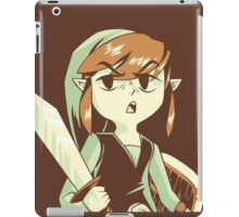 """""""I'm NOT Your Princess"""" - Toon Link - Wind Waker  iPad Case/Skin"""