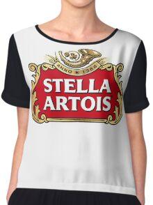 Stella Artois Chiffon Top