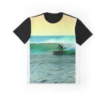 Emerald Green Tobanga Morning, Los Angeles Graphic T-Shirt