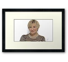 Victoria Wood Framed Print