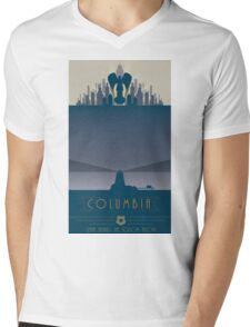 Bioshock Columbia Mens V-Neck T-Shirt
