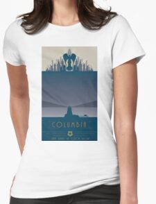 Bioshock Columbia Womens Fitted T-Shirt