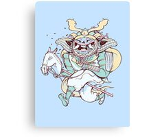 Samurai Hack Canvas Print