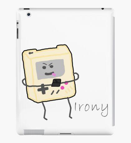 Gameboy Irony iPad Case/Skin