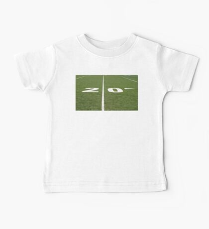 Football Field Twenty Baby Tee