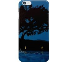 Twilight Swimmer iPhone Case/Skin
