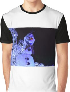 Olaf Paint the Night Graphic T-Shirt