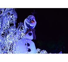 Olaf Paint the Night Photographic Print