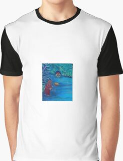 By The River by 'Donna Williams' Graphic T-Shirt