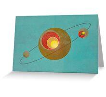 Orbit Greeting Card