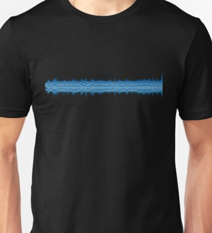 The Sound of Fear (Mono Glitch 1) Unisex T-Shirt