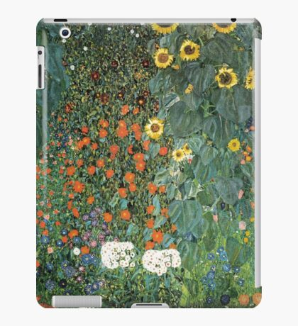 Gustav Klimt - The Sunflower iPad Case/Skin