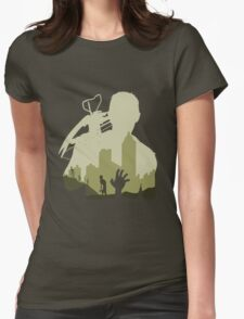 Sniping Zombies Womens Fitted T-Shirt