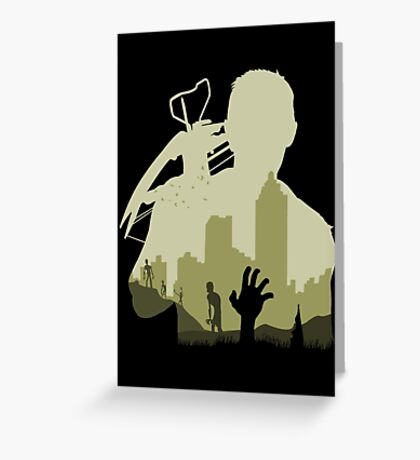 Sniping Zombies Greeting Card