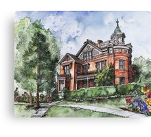 Armstrong Mansion Canvas Print